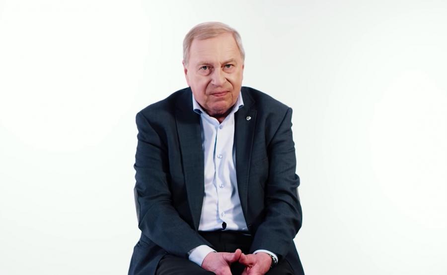 Jerzy Stuhr w kampanii \