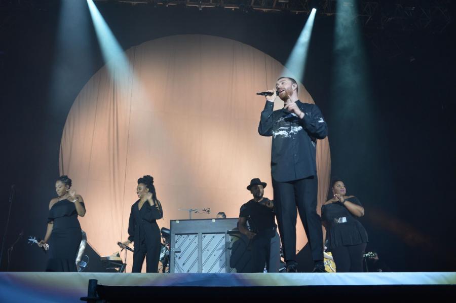 Sam Smith podczas Orange Warsaw Festival. 1 czerwca 2018