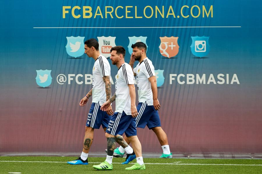 Lionel Messi, Angel Di Maria i Sergio Aguero