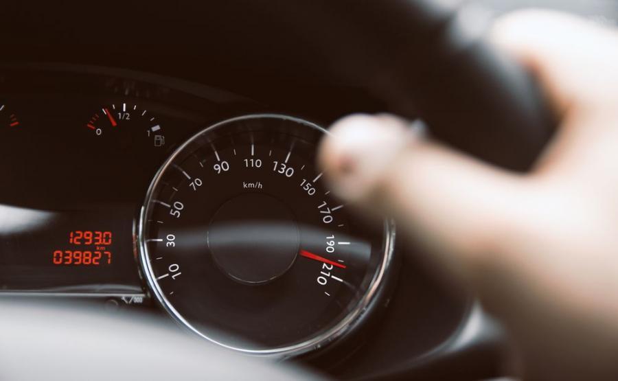 Za kierownicą (zdjęcie poglądowe)