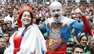 Euforia w Rosji po meczu otwarcia