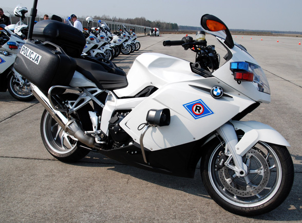 Policja ma nowe motocykle - piraci są bez szans