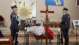 Pogrzeb pilota Krzysztofa Sobańskiego