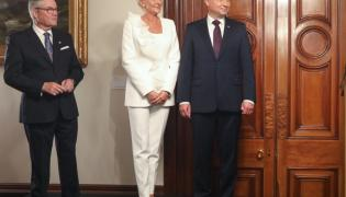 Agata Kornhauser-Duda i Andrzej Duda - 18 sierpnia 2018 r.