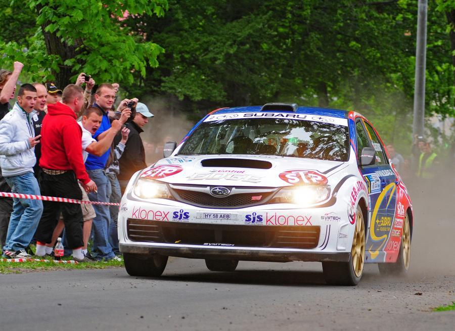 Elmot dla Kajetana, remis w klasyfikacji rajdowych mistrzostw Polski