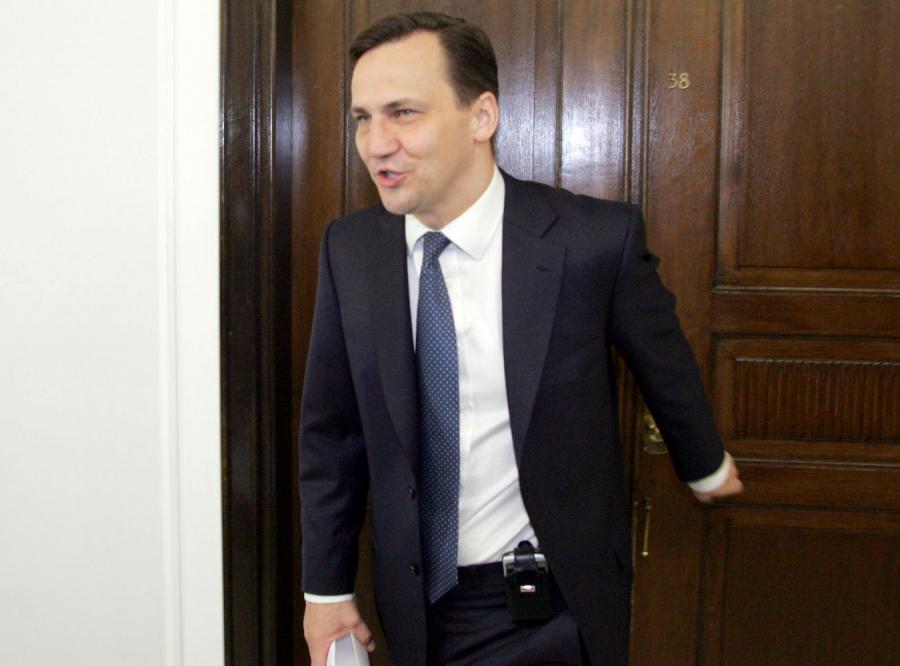 Sikorski: będą kary za tekst prezydenta