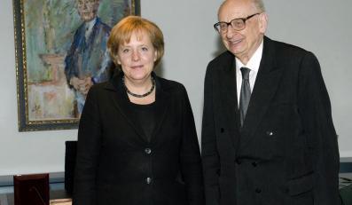 Kanclerz Niemiec ustąpiła Bartoszewskiemu?