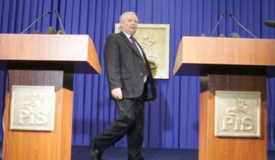 Partia Kaczyńskiego traci na popularności