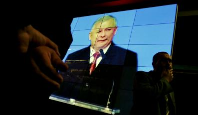 Kaczyński wolał Tuska w TV niż na żywo