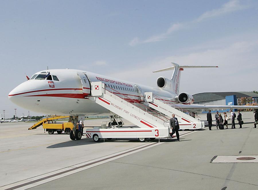 Kryzys uziemił rządowy samolot?