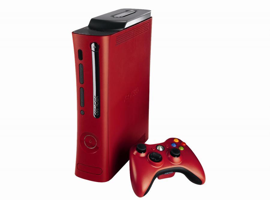 Xbox 360 się zaczerwienił