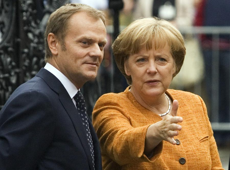 Premier rozmawiał z Angelą Merkel o kryzysie