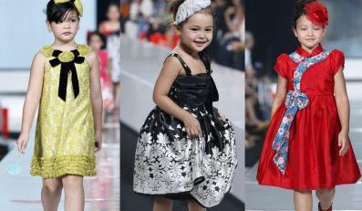 Moda dziecięca w kolekcji Sebastiana Gunawana na Jakarta Fashion Week 2010