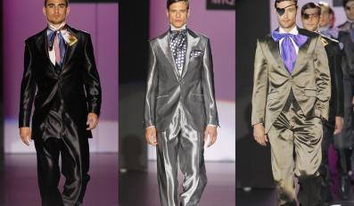 Mężczyzna w stylu glamour: odświętne kreacje od hiszpańskich projektantów