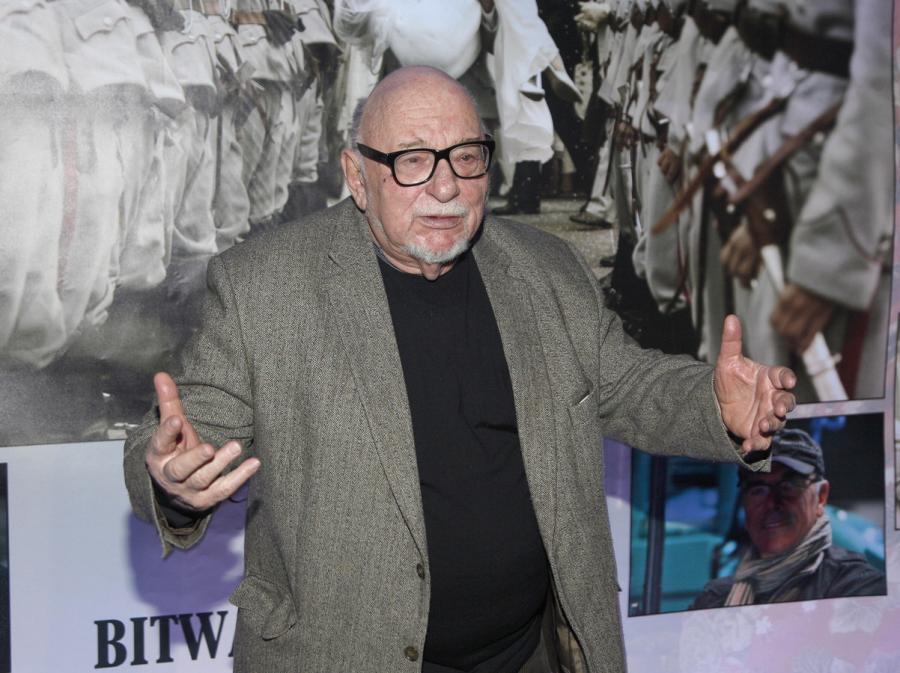 Jerzy Hoffman na premierze zwiastuna 3D