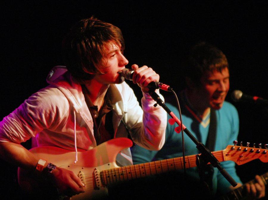 Arctic Monkeys z koncertu