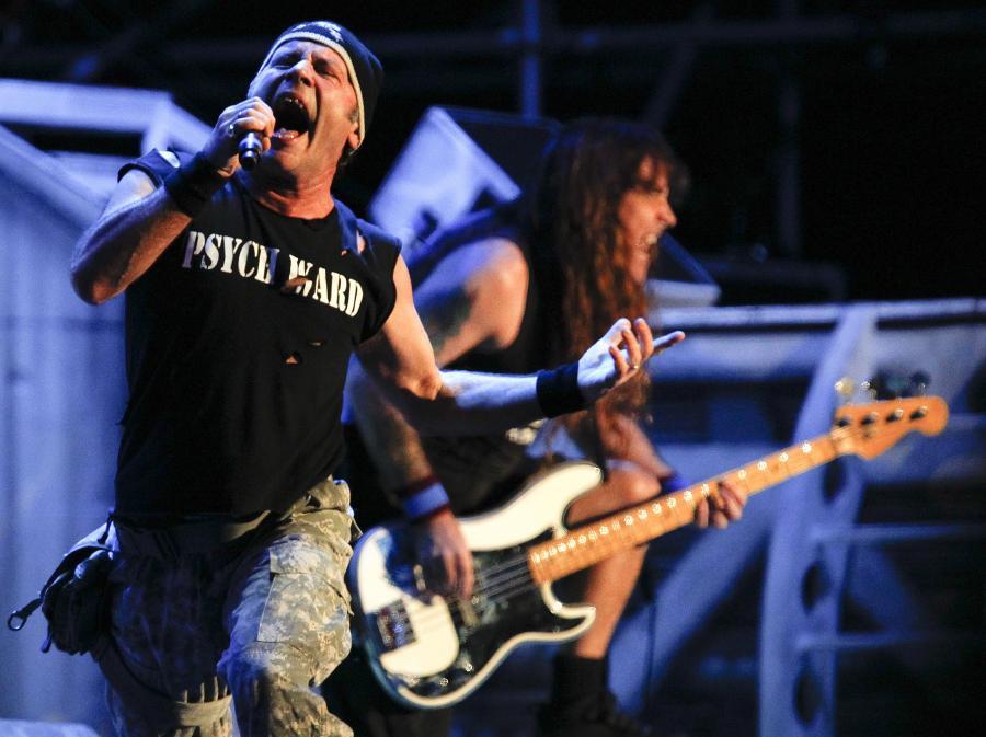 Iron Maiden w akcji