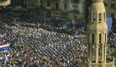 """Wtorkowy protest """"miliona ludzi"""" w Kairze"""