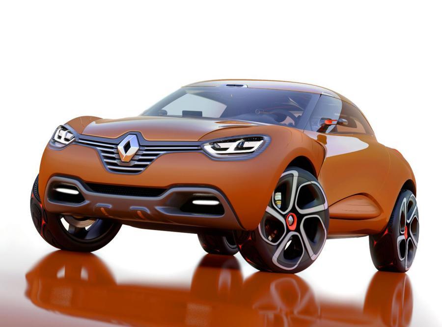 Renault captur - nowość ściąga kaptur tajemnicy