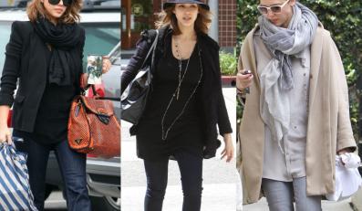 Jessica Alba w ciąży na ulicach Los Angeles
