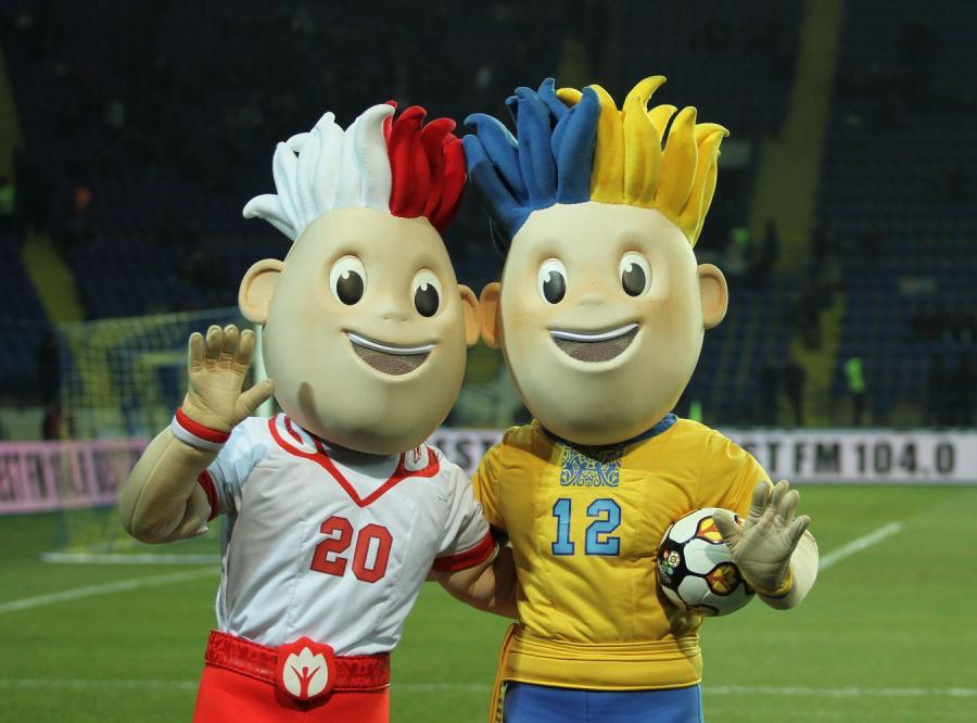 Maskotki Euro 2012