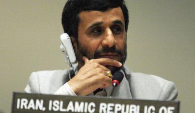 Prezydent Iranu Mahmud Ahmadineżad