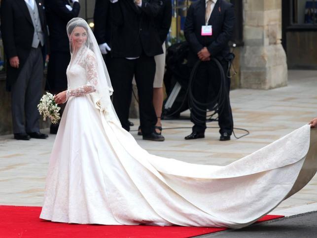 Królewska panna młoda: Kate Middleton na ślubnym kobiercu