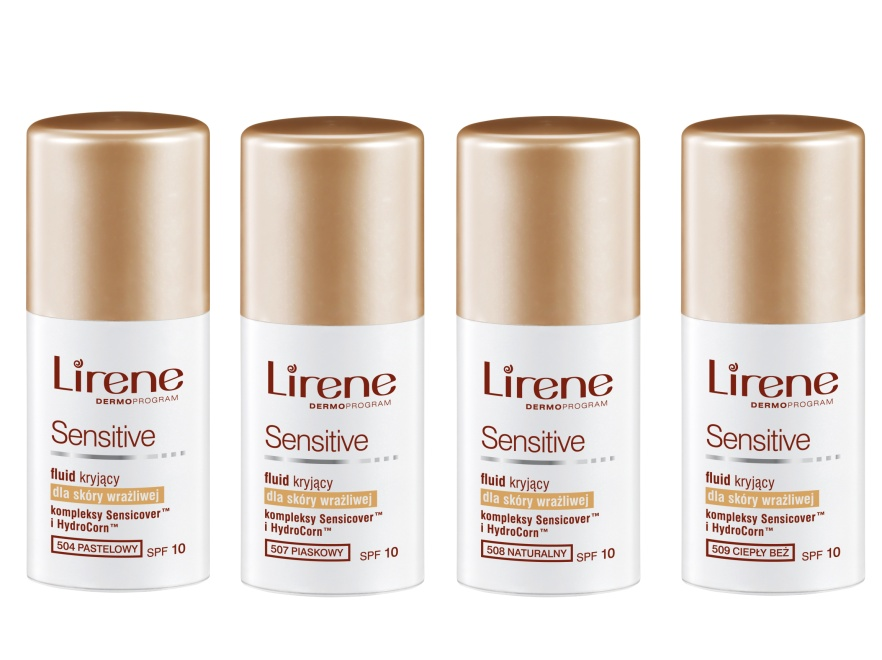 Fluidy Lirene Sensitive są dedykowane cerze wrażliwej