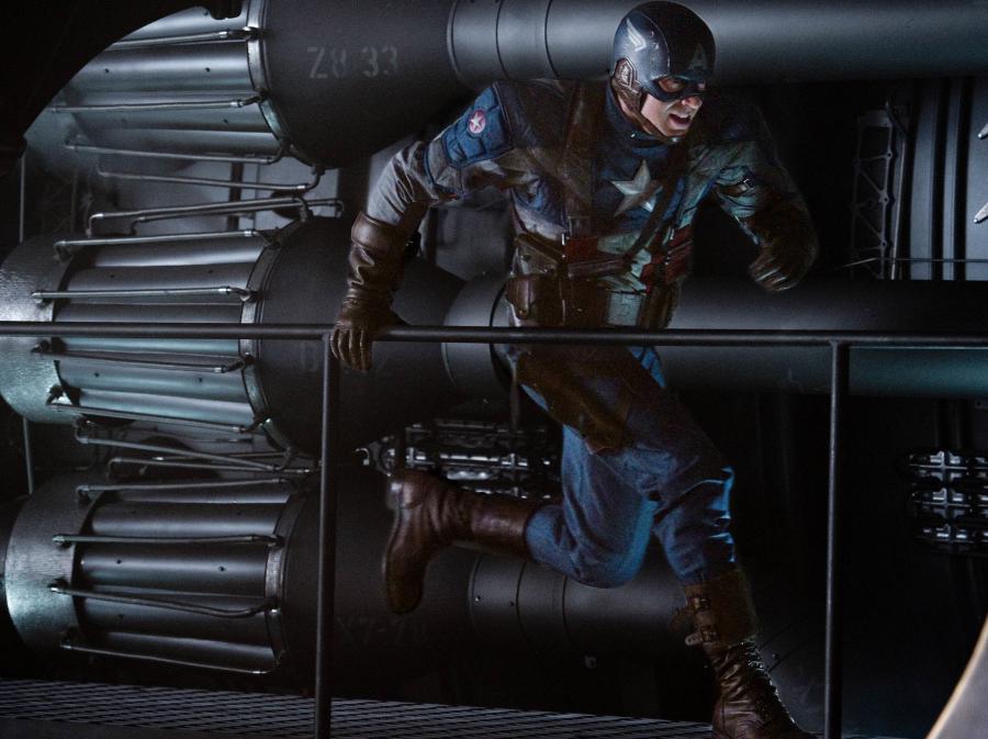 Kapitan Ameryka z komiksu na ekrany