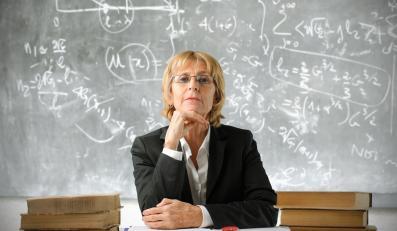 Nauczycielka (zdjęcie ilustracyjne)
