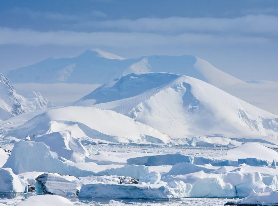 Antarktyda - zdjęcie ilustracyjne