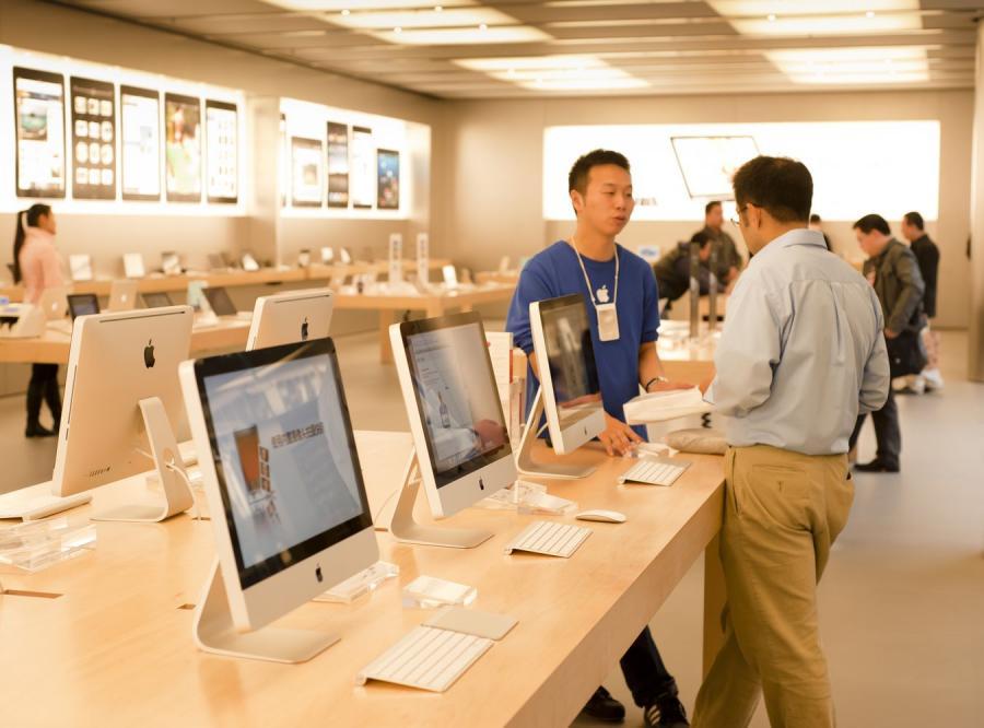 Chińczycy podrobili sklepy Apple\'a