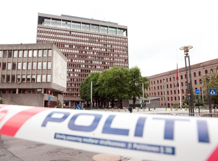 Oslo po zamachu