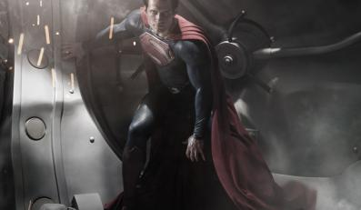 "Henry Cavill jako Superman w ""Man of Steel"""