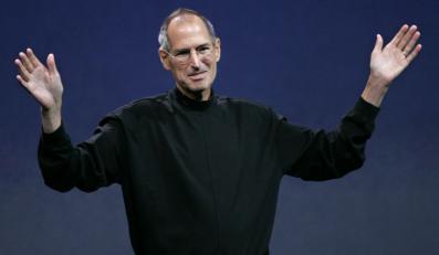 Steve Jobs - współzałożyciel i były prezes firmy Apple Inc
