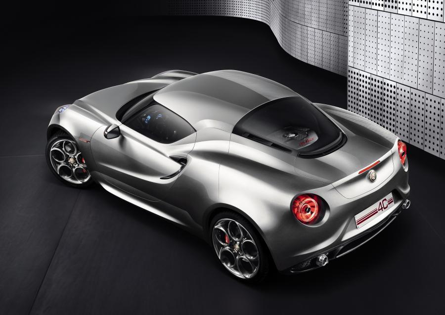 Alfę Romeo 4C