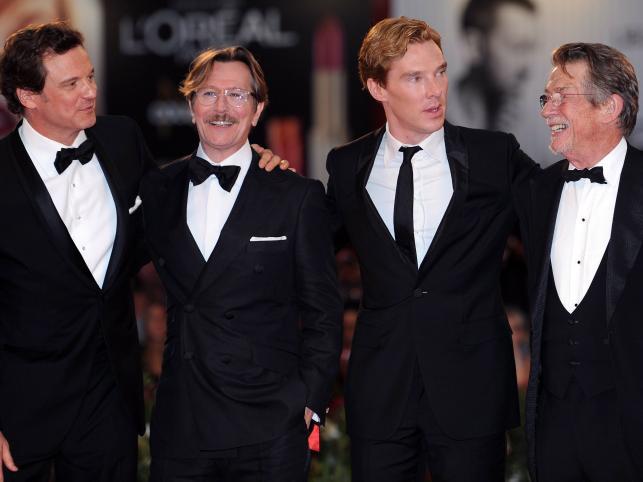 Colin Firth, Gary Oldman, Benedict Cumberbatch i John Hurt
