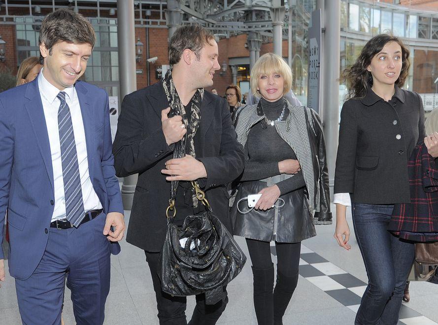 Od lewej: Giuseppe DiGiovanni z Pollini, Nicholas Kirkwood, Grażyna Kulczyk i Barbara Metelska, kurator Art&Fashion Festival