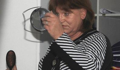 Anna Grodzka bez makijażu