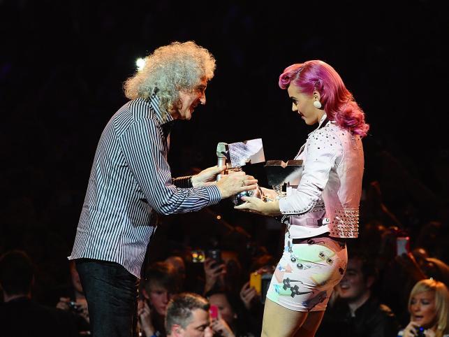 Brian May i Katy Perry