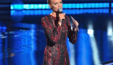 """Sukienka, w której Magda Mielcarz wystąpilła w ostatnim odcinku """"The Voice of Poland"""", jest warta prawdziwą fortunę."""
