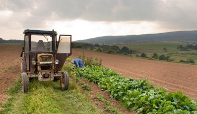 Rolniczy ciągnik