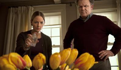 """Jodie Foster i John C.Reilly w filmie """"Rzeź"""""""