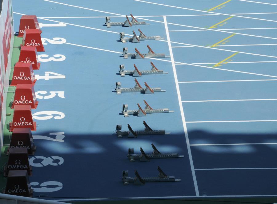 Brytyjski sprinter znalazł sponsora na serwisie aukcyjnym