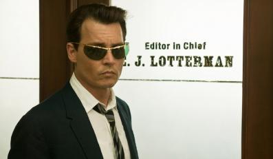 """Johnny Depp w filmie """"Dziennik zakrapiany rumem"""""""