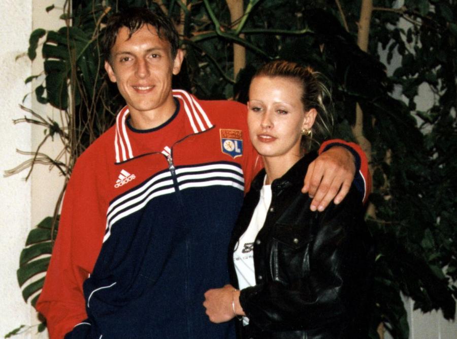 Jacek Bąk i jego żona