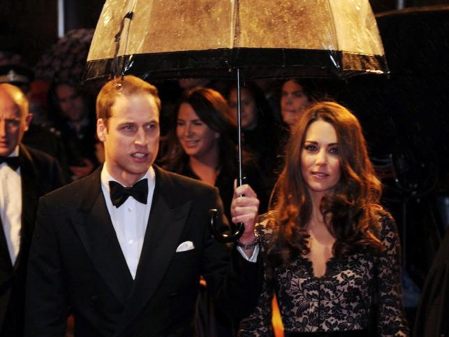 Księżna Cambridge Catherine Middleton i książę William