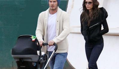 David Beckham musi zarobić na kosztowną garderobę córki