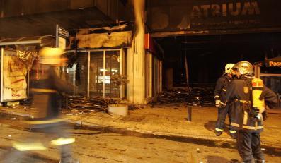 Ateny zdewastowane po nocnych protestach