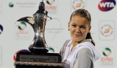 Agnieszka Radwańska triumfowała w Dubaju